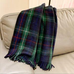 Edinburgh All Wool Blanket Tartan